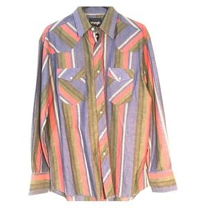 Western cut Wrangler men's shirt